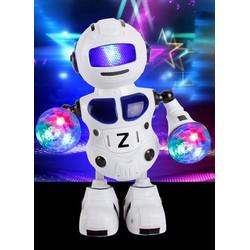 Đồ chơi robot nhảy nhạc có đèn sân khấu