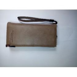 ví cầm tay da sang trọng với mẫu màu mới hiện đại