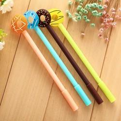 Combo 5 bút bi nước mực xanh Cute nhiều hình