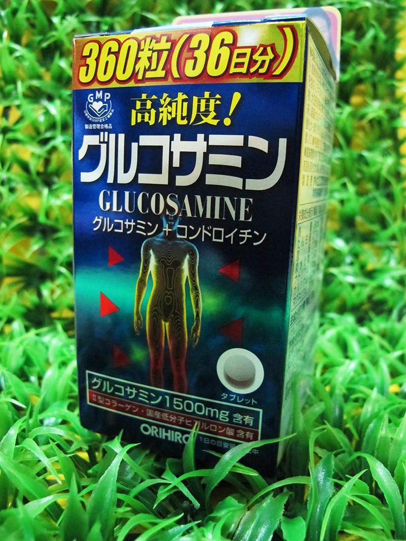 Viên uống Glucosamin 1500mg Orihiro Nhật Bản 360 viên 5