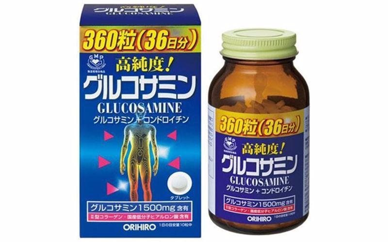 Viên uống Glucosamin 1500mg Orihiro Nhật Bản 360 viên 1