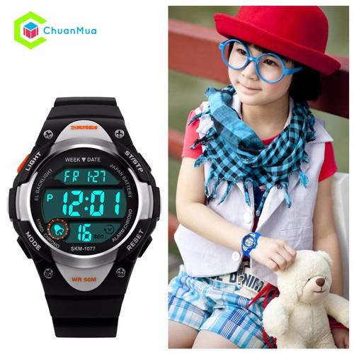 Đồng hồ Cho Bé Gái Chống Nước Skmei SK1077