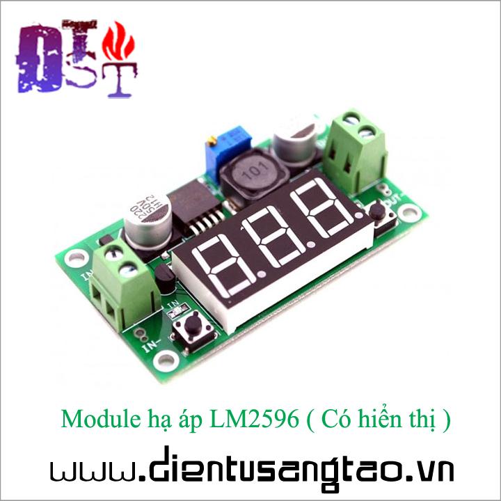 Module hạ áp LM2596 - Có hiển thị