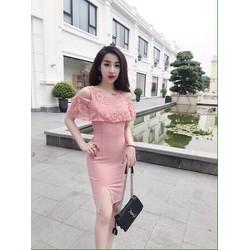 Đầm body khoét vai