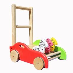 Xe tập đi bằng gỗ,xe tập đi cho bé 3 con ngựa