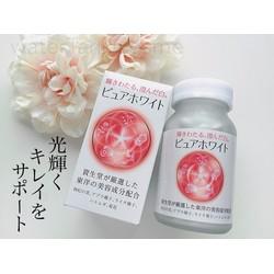 Viên uống trắng da Shiseido Pure White của Nhật Bản