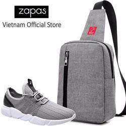Combo Giày Sneaker Nam Túi Messenger Thời Trang Glado