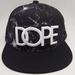 Nón Hiphop Dope thêu dành cho trẻ em có dây điều chỉnh lớn bé