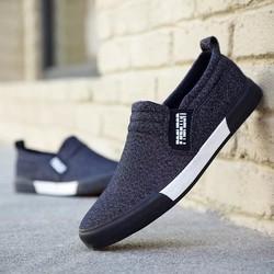 Giày lười vải nam thời trang và lịch lãm Fashion