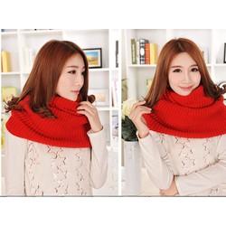 Khăn quàng khăn len nữ khăn len ống-VSNK0020