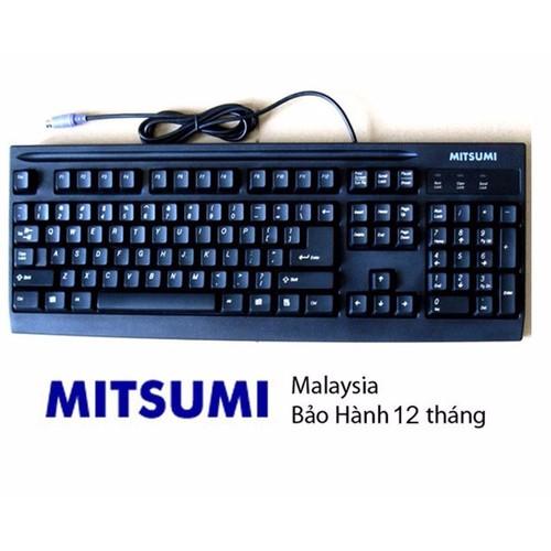 Bàn phím MITSUMI loại 1 PS2 hàng malaysia
