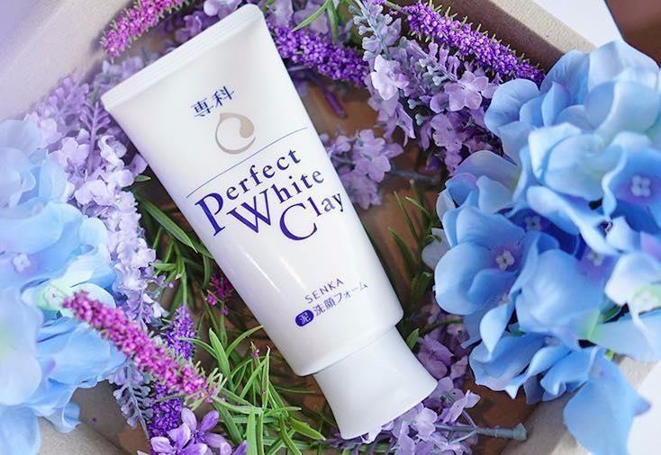 Sữa rửa mặt Shiseido Perfect White Clay 120g 1