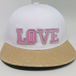 Nón Hiphop Love dành cho trẻ có dây điều chỉnh lớn nhỏ