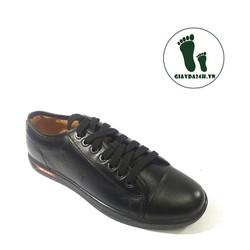 Giày thể thao nam da thật siêu bền êm chân
