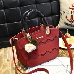 Túi xách thời trang nữ gợn sóng