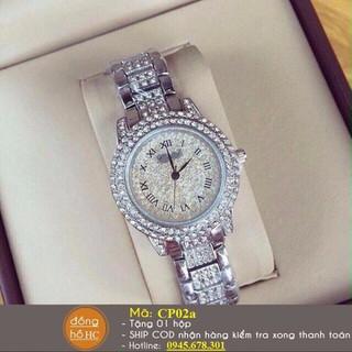 Đồng hồ nữ dây bạc cao cấp - CP02a thumbnail