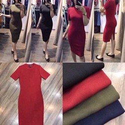 Đầm Body Len Gân Cao Cấp Giá Sốc Hot