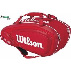 Bao vợt Wilson Mini Tour 9 Pack Bag Red chính hãng
