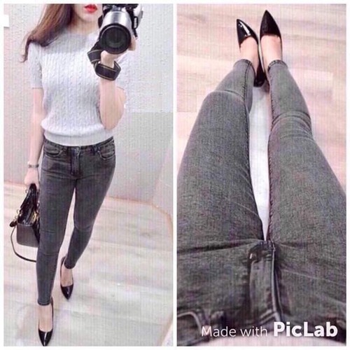 Quần Jean nữ style Hàn Quốc cao cấp