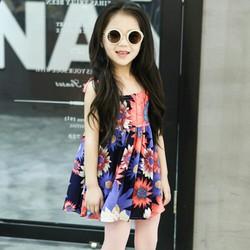 Đầm bé gái hai dây