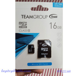 Thẻ Nhớ Micro SDHC Team Group 16GB Class 10