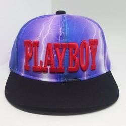Nón Hiphop Playboy dành cho trẻ có dây điều chỉnh lớn nhỏ