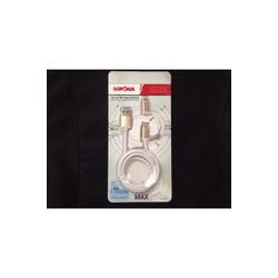 dây điện thoại sạc 2 trong 1 sopoka - DQ-03