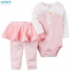 Bộ bé gái 0-18 tháng Carters hàng xách tay từ USA