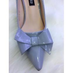 Giày cao gót  Nơ....ẢNH THẬT....