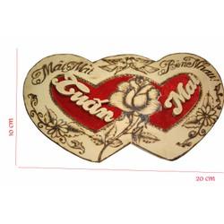 quà tặng người yêu tranh gỗ cắt theo tên