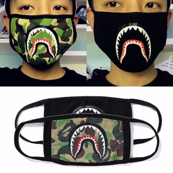 Khẩu trang Bape   Khẩu Trang Bape Shark