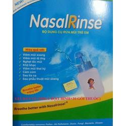 Bộ dụng cụ rửa mũi trẻ em