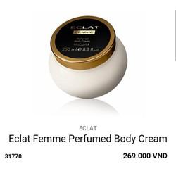 Dưỡng thể hương nước hoa Eclat Femme Eau de Toilette 31778