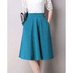 Chân Váy Xòe Nana Cách Điệu Lưng Màu Mới2