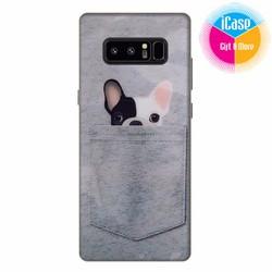 Ốp lưng Samsung Galaxy Note 8 - Nhựa dẻo in hình Cún Cute