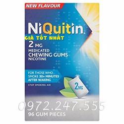 Kẹo cai thuốc-lá Nicotine hiệu quả trong một liệu trình