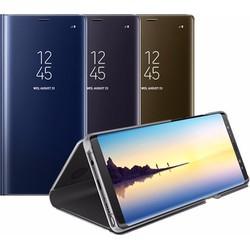 Bao da dạng đứng Clear View Cover cho Galaxy Note 8