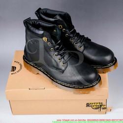 Giày da nam Doctor cổ cao sành điệu mẫu HOT nhất hiện nay GDNHK82