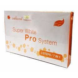 Bộ kem tắm trắng cao cấp Sakura Super White Pro System