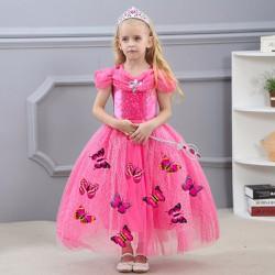 Đầm voan dạ hội cánh bướm công chúa Lọ lem Cinderella