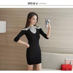 Đầm len dệt kim