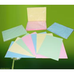 Bìa thái A4 160gsm – 100 tờ - màu xanh dương