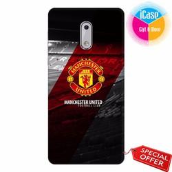 Ốp lưng Nokia 6 - Nhựa dẻo in hình Câu lạc bộ Manchester United