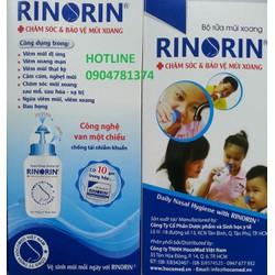 Bình rửa mũi Rinorin