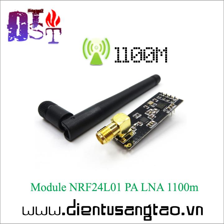 Module NRF24L01 PA LNA 1100m + Anten 1