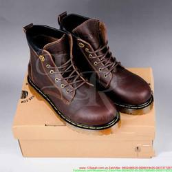 Giày da nam Doctor cổ cao phong cách năng động GDNHK86