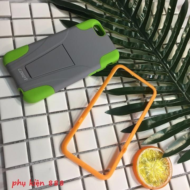 Ốp lưng Iphone 6 6s thể thao collen tháo rời kèm kính cường lực 7