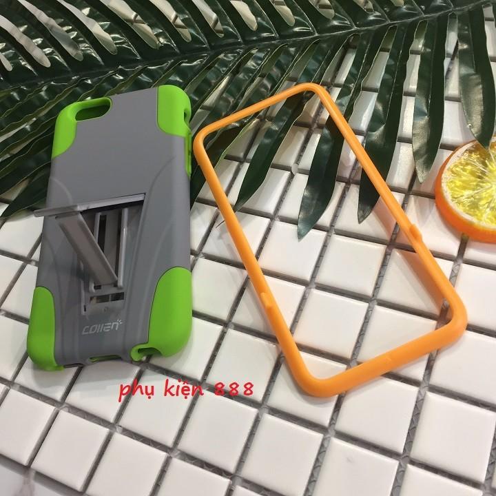 Ốp lưng Iphone 6 6s thể thao collen tháo rời kèm kính cường lực 5