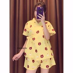 Set bộ yukata hình quần short hàng nhập - MS: S260944 Giá sỉ: 100K