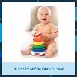 BỘ ĐỒ CHƠI THÁP XẾP CHỒNG FISHER PRICE